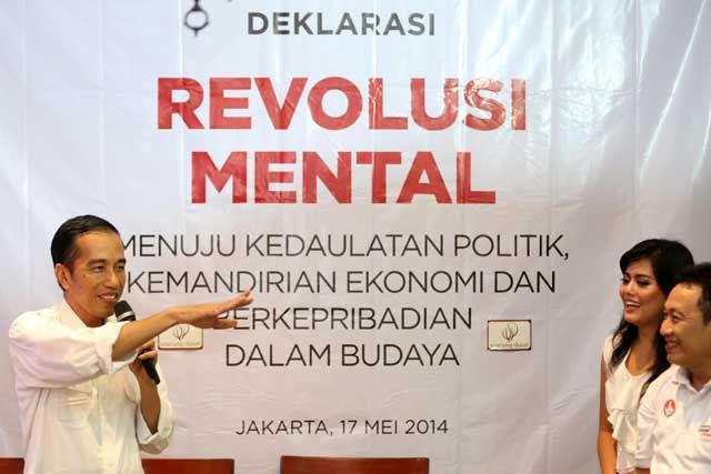 """""""Mental Budak, Mental Gratisan dan Revolusi Mental"""""""
