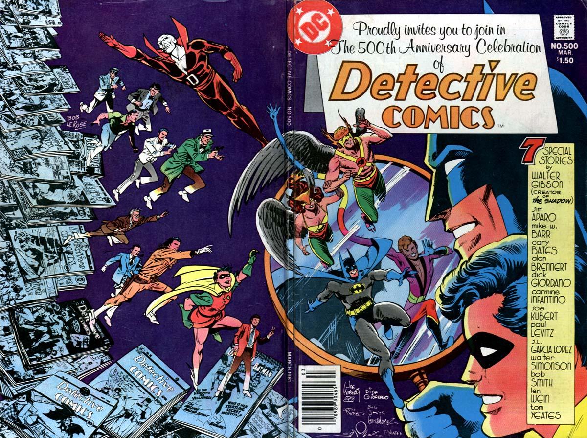Detective Comics (1937) 500 Page 1