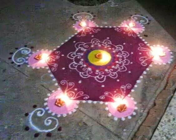 Rangoli Diwali Collection 19