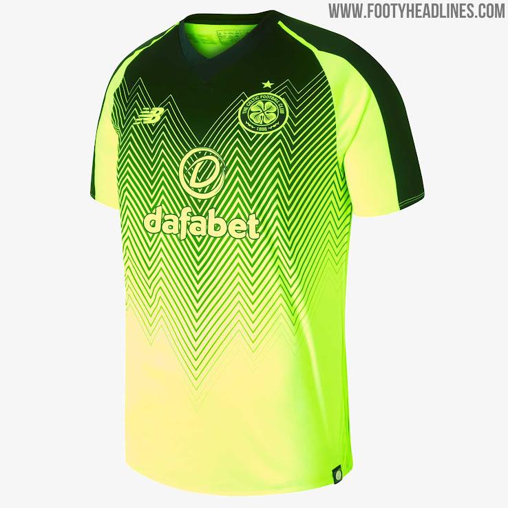 2a6471d5c4b Celtic 18-19 Third Kit Revealed - Footy Headlines