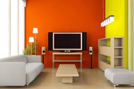 Kombinasi 2 Warna Cat Ruang Tamu Minimalis Dengan Tampilan Alami