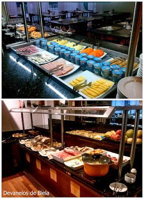 Hotel Slaviero Suítes Curitiba café da manhã