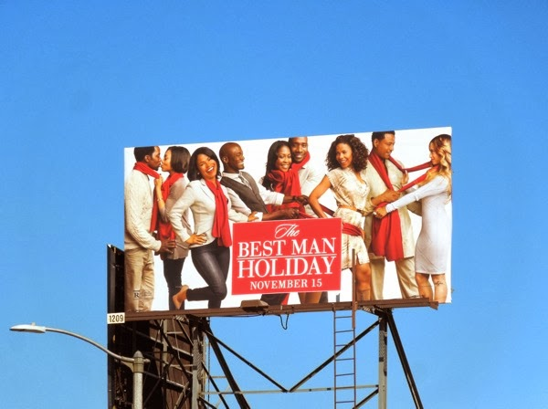 Best Man Holiday billboard ad