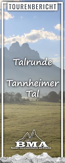 Talrunde Tannheimer Tal   Wandern Tirol