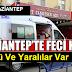 Gaziantep'te Feci Kaza 1 Ölü 6 Yaralı