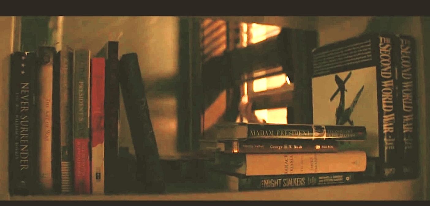 Steve Rogers Bookshelf