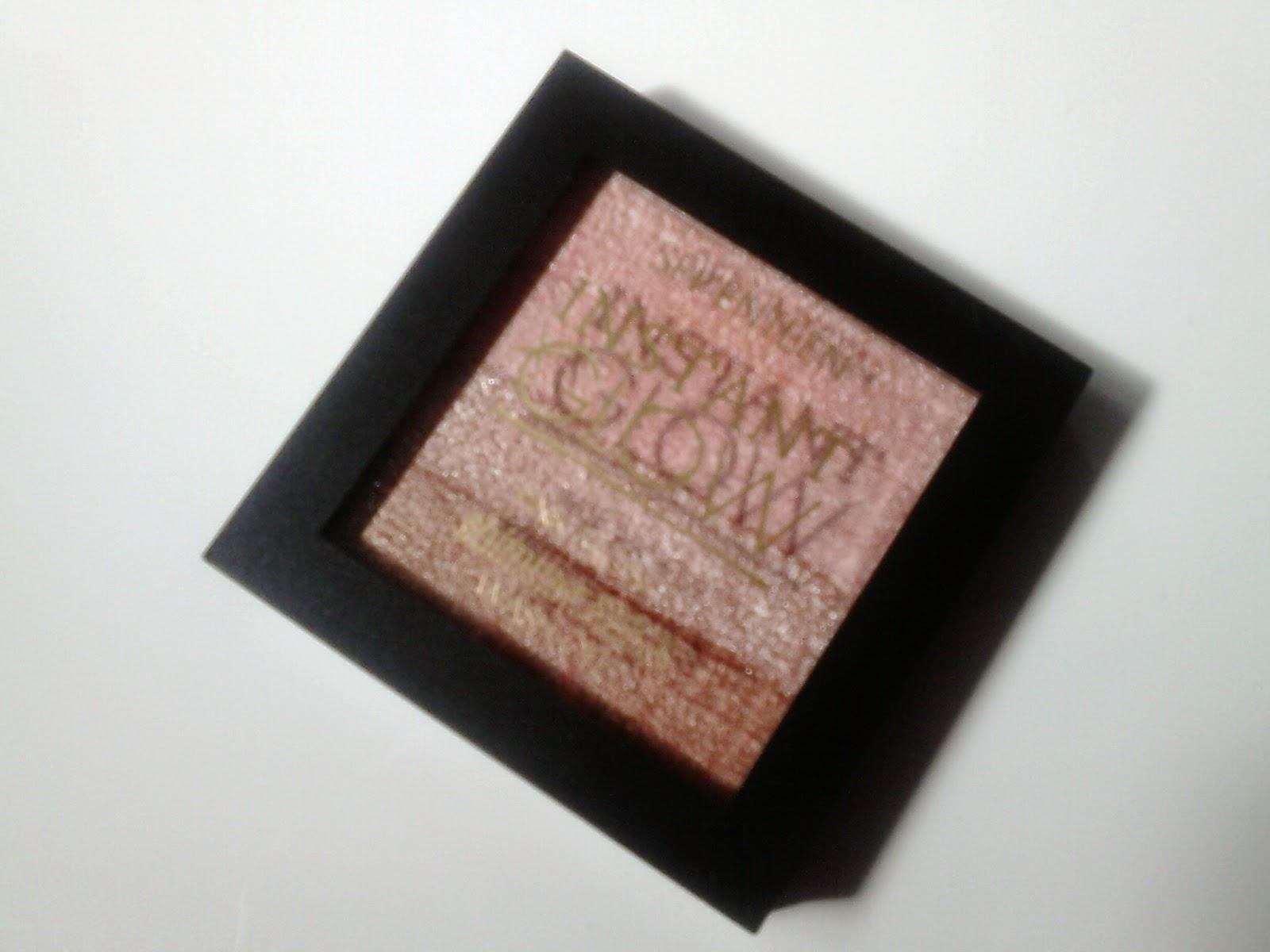 Seventeen Instant Glow Shimmer Brick Pink Bronze