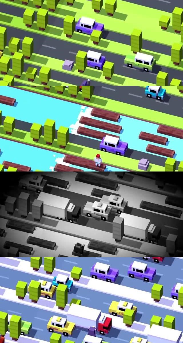 Top 25 Best Free iOS Games 16. Crossy Road