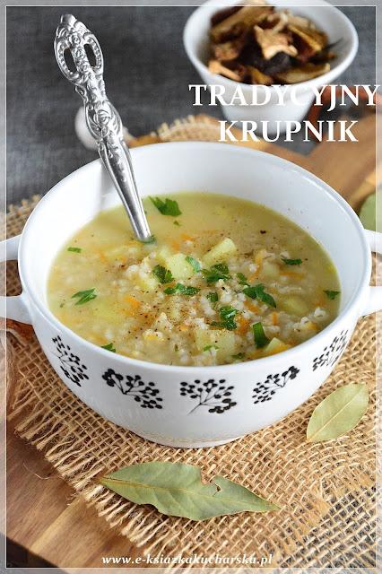 tradycyjna zupa krupnik