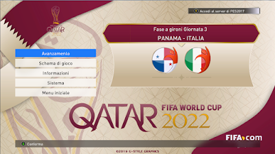 Update, PES 2017 Graphic Mod Fantasy World Cup 2022 Qatar by G-Style