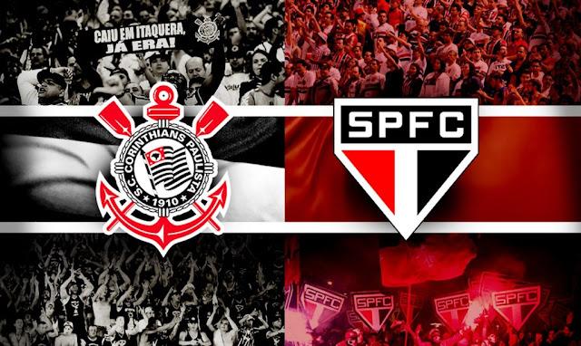 Saiba onde assistir Corinthians e São Paulo pela 33ª rodada do BR 18