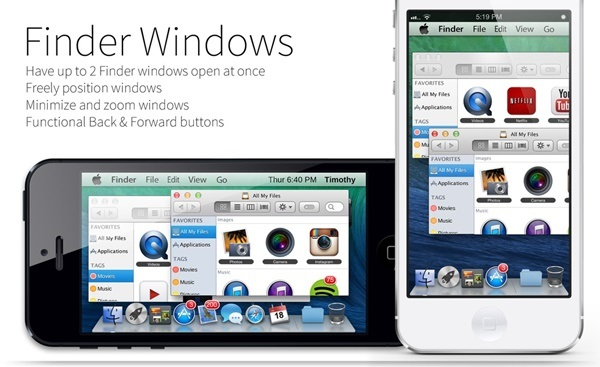 Mavericks Mini Finder Windows