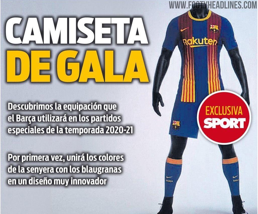 Czwarta koszulka Barcelony na nowy sezon [FOTO ...