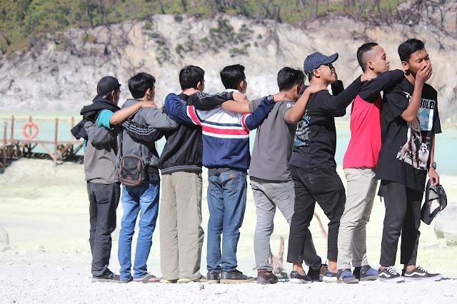 Jadi Baru Kebumen 2018 Tour To Bandung, Best Momen- foto terbaik di kawah putih 1