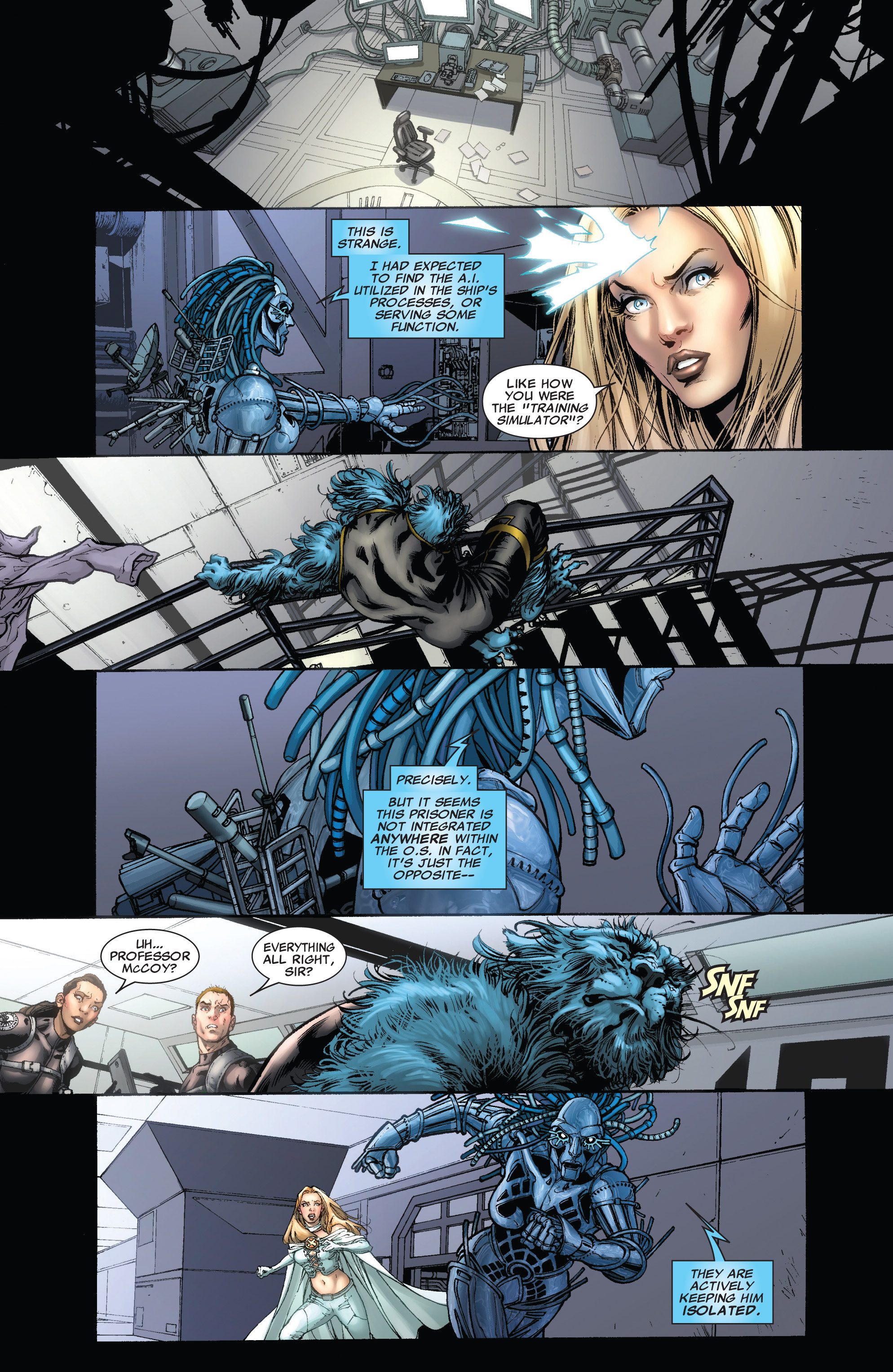 Read online Astonishing X-Men (2004) comic -  Issue #43 - 7