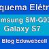 Esquema Elétrico Samsung Galaxy S7 SM-G930F - Manual de Serviço