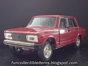 Vaz 2105 Toy Car Vehicle