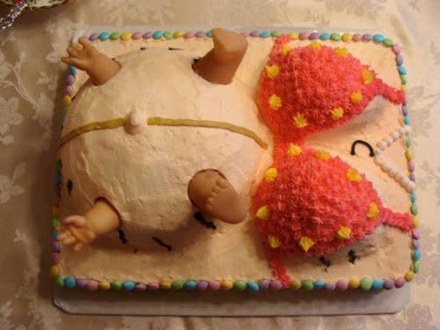 Happy Birthday bánh sinh nhật của Vợ bầu tặng Bố tương lai