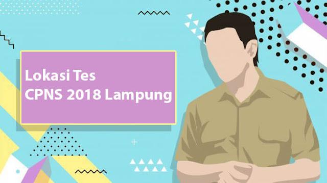 Lokasi Tes CPNS 2018 Lampung