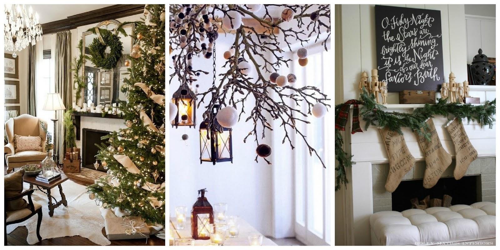 Decorazioni Natalizie Sul Camino.Il Giardino Di Fasti Floreali Immagini Del Natale La
