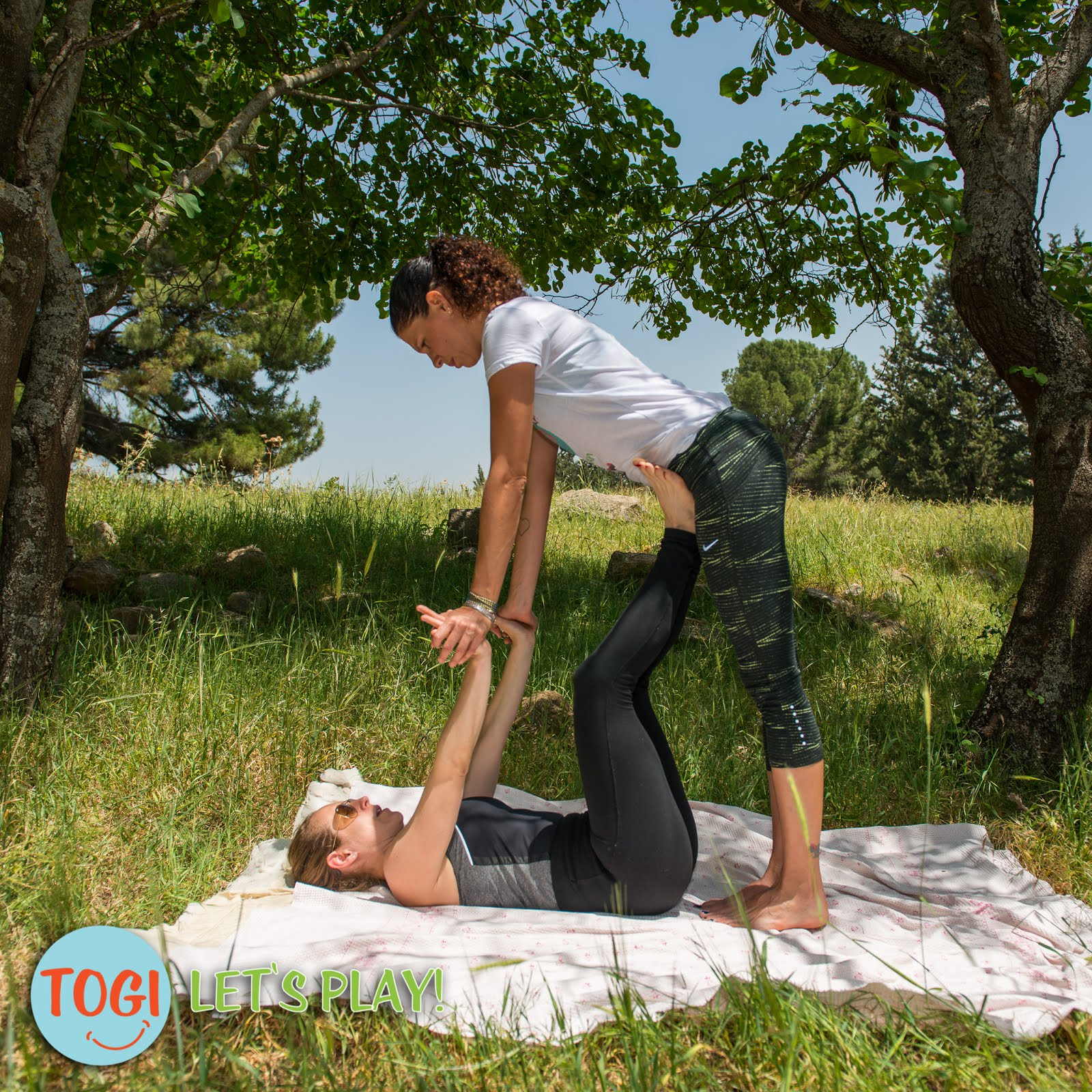 Togi Play Together 7 Acro Yoga Exercises For Parents And Children Ages 3y To 12y Or More