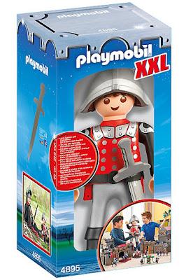 TOYS : JUGUETES  PLAYMOBIL Knights : Caballeros  4895 XXL Knight : Caballero | Figura - Muñeco  Producto Oficial 2016   Comprar en Amazon España