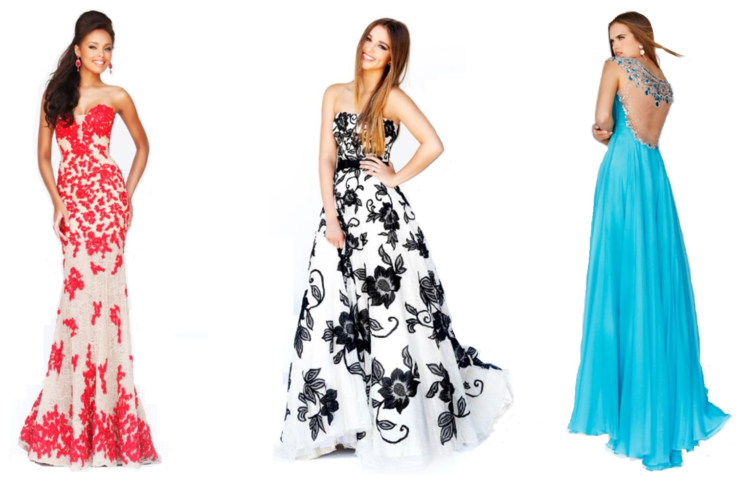 Modelos diferentes vestidos formatura