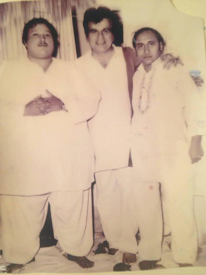 Nusrat Fateh Ali Khan Bollywood Start Dalip Kumar and Iqbal Ji