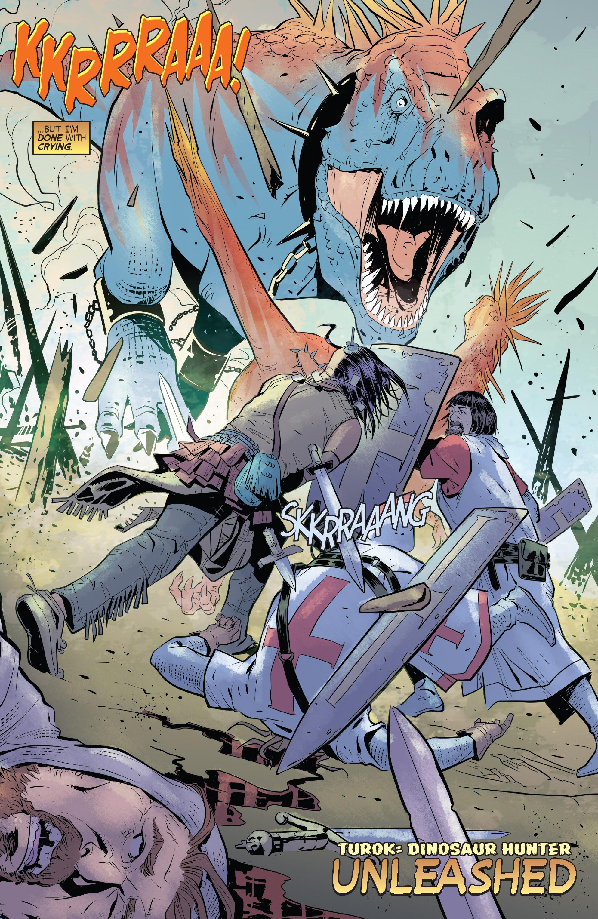 Read online Turok: Dinosaur Hunter (2014) comic -  Issue # _TPB 1 - 75
