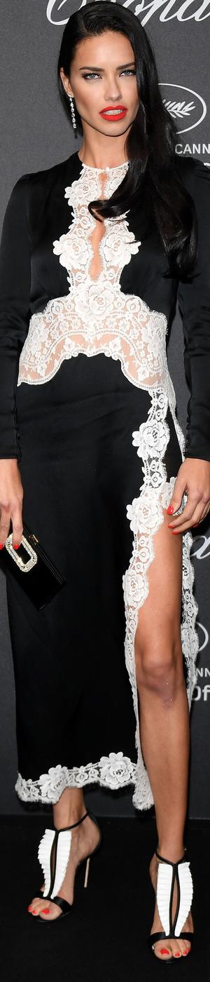 Adriana Lima 2016 Cannes Film Festival