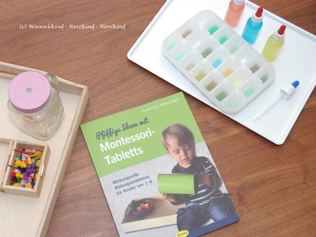 Tabletts sind ansprechend, haben einen Aufforderungscharakter und bieten den Platz für viele wundervolle Lernanregungen.
