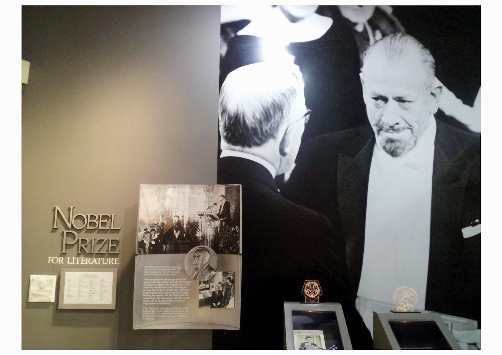 Nobel Prize For Literature John Steinbeck john steinbeck the nob...