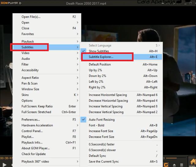 download software menggabungkan video dengan subtitle