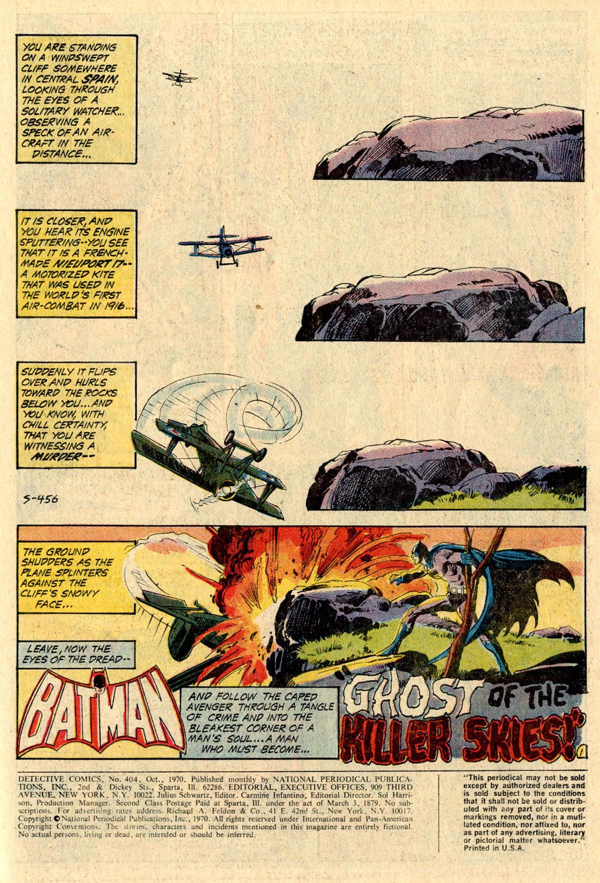Detective Comics (1937) 404 Page 2