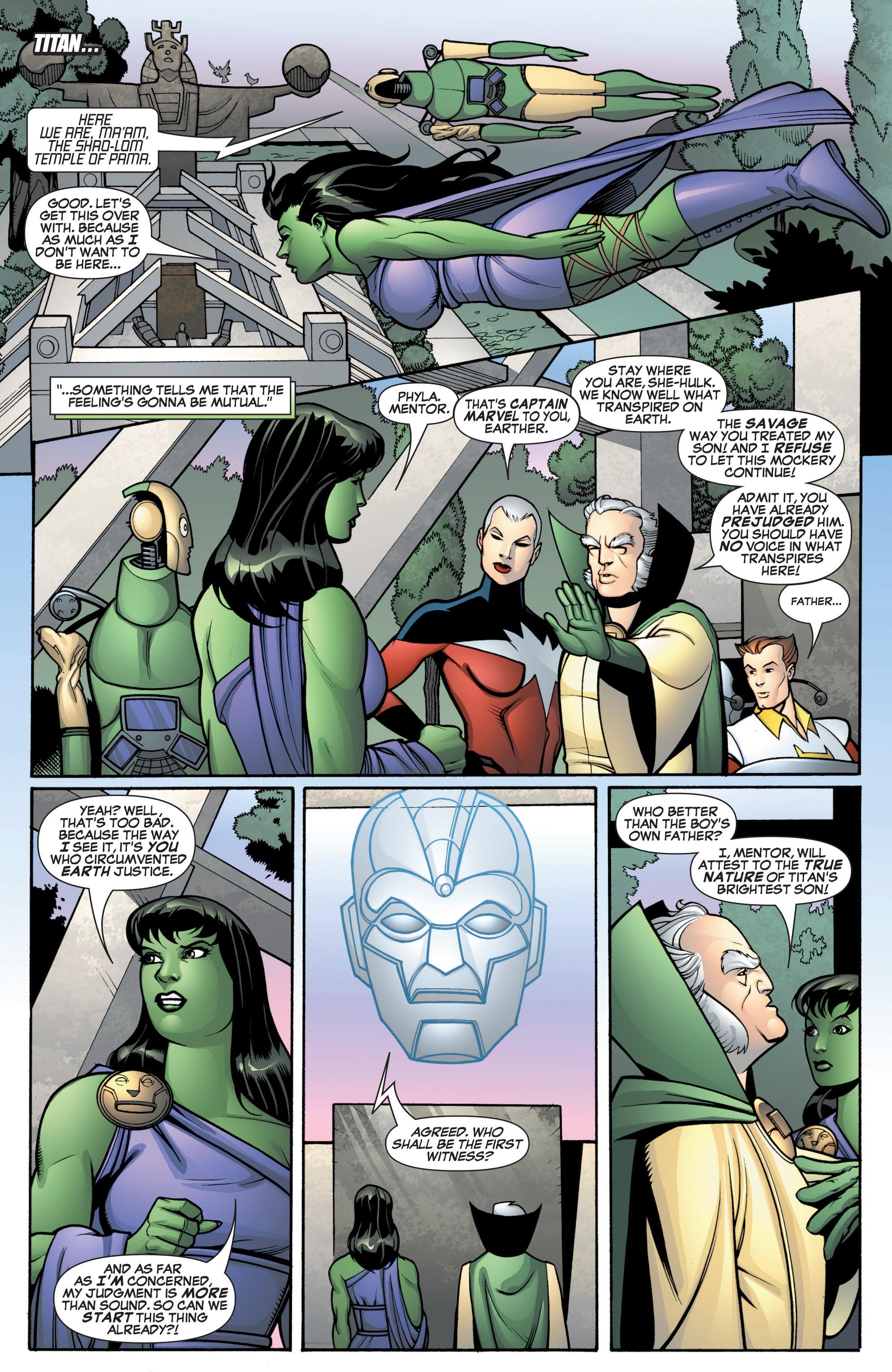 Read online She-Hulk (2005) comic -  Issue #12 - 12
