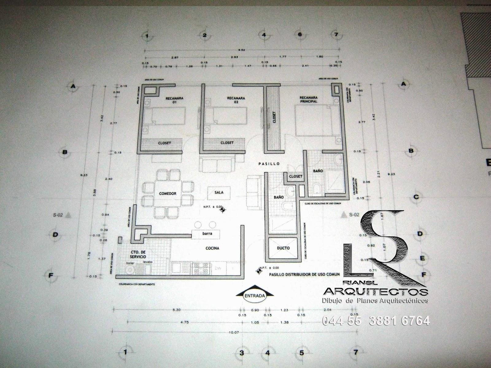 Arq rigoberto s nchez especialista en dibujo de planos for Simbologia de niveles en planos arquitectonicos