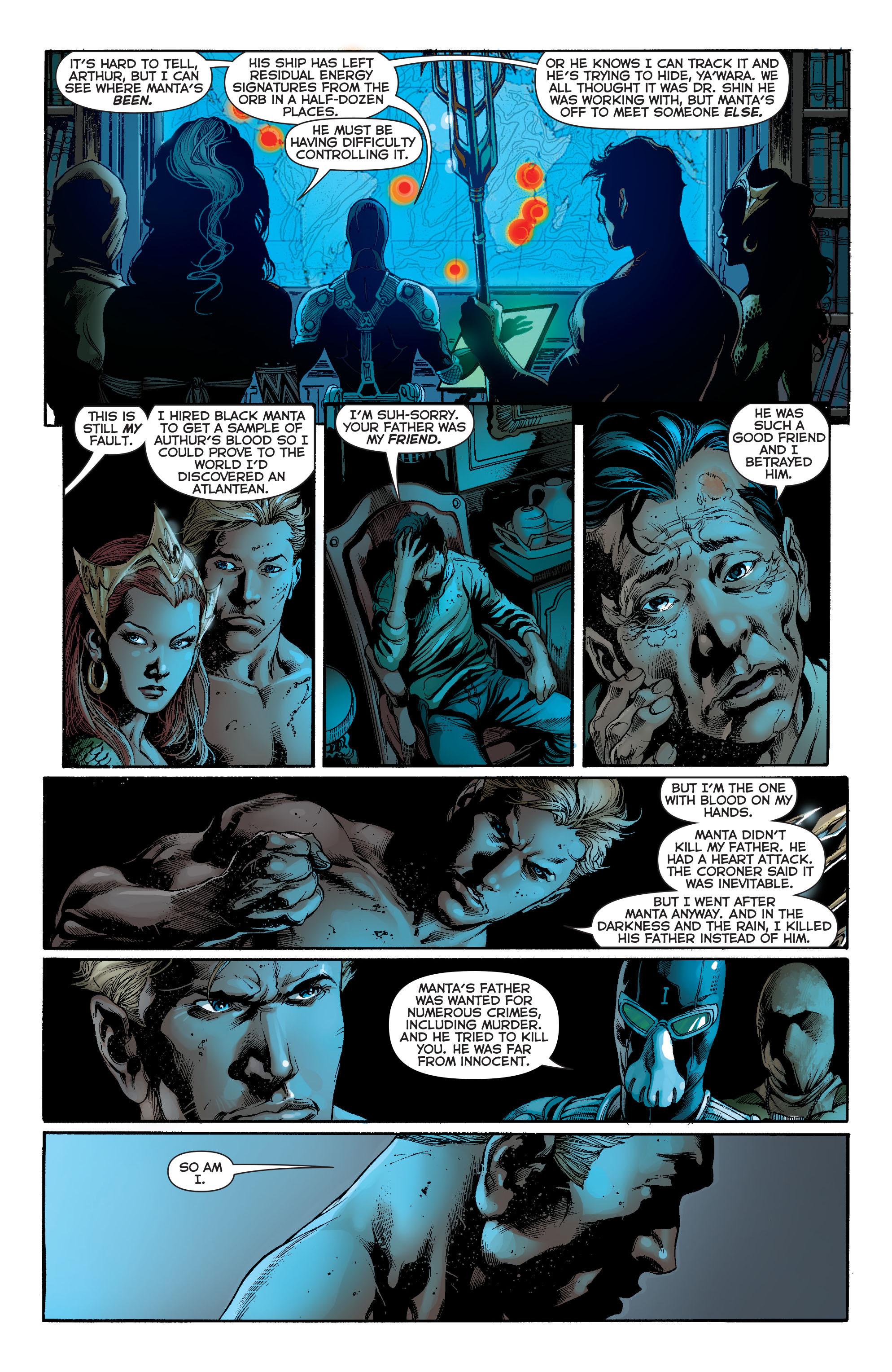 Read online Aquaman (2011) comic -  Issue #13 - 6
