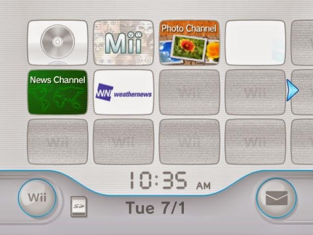Wii Menu Dolphin