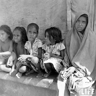 bengal famine victims