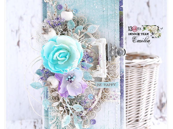Be Happy - Cardmaking Video Tutorial