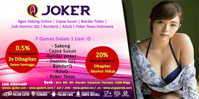Bonus CashBack 2x Judi Domino Online Di QJoker.net