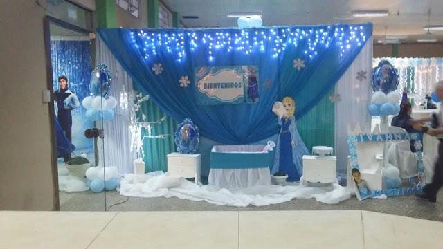 Tu cumple ideas de decoraci 243 n de fiesta infantil tema frozen fotos