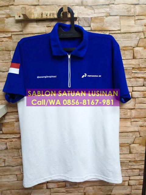 Sablon Kaos Kaos Polo Satuan Lusinan