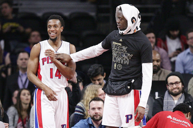 Ish Smith et Reggie Jackson   PistonsFR, actualité des Detroit Pistons en France