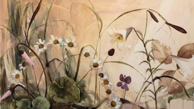 Morgan Allender: flores (paisajes) de su jardín