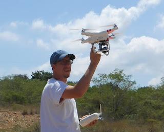 Drones schrijven mee aan nieuwe geschiedenis Cariben