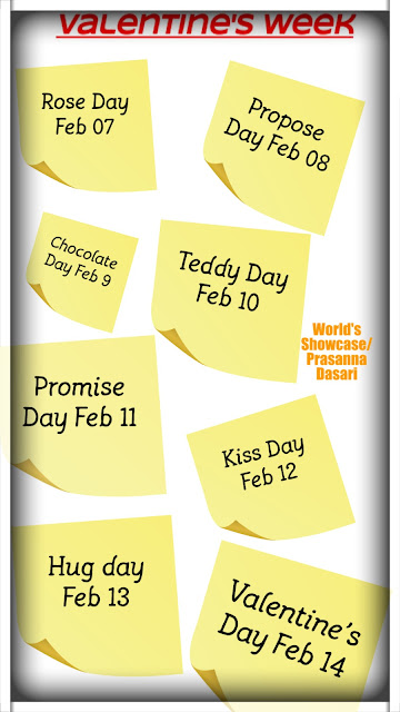 Valentine week special days