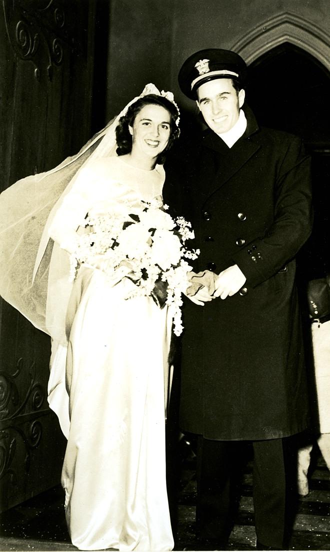 President George Bush And Mrs Barbara