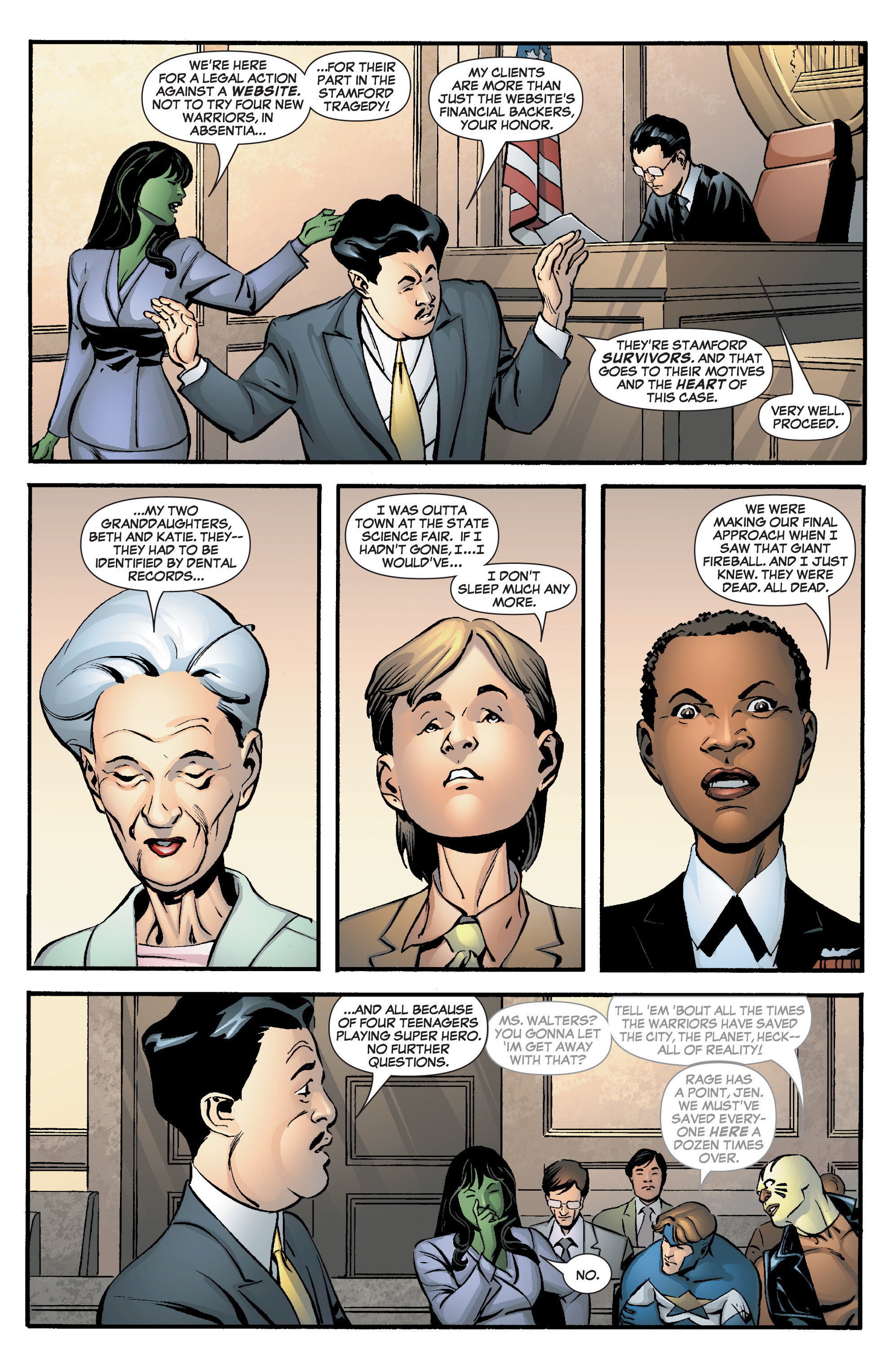 Read online She-Hulk (2005) comic -  Issue #8 - 15