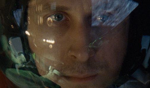 Review: 'First Man' Stars Ryan Gosling's Eyelashes, Intergalactic Glitter, No American Flags